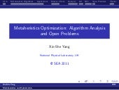 Metaheuristic Optimization: Algorit...