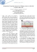 Independent Component Analysis for Filtering Airwaves in Seabed Logging Application