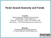 Search Economy and Trends