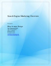 Search engine marketing overview