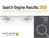 Search engine results 2010