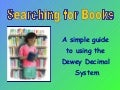 Searching For Books Dewey System 1229691284710505 2