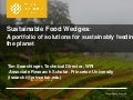 Searchinger  - Sustainable food wedges - Hunger for action - 2012-09-04