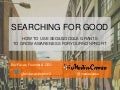 Searching for Good -- Nonprofit Bootcamp San Francisco