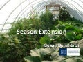 Grow Your Own, Nevada! Fall 2011: Season Extension