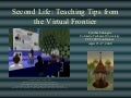 Second Life: Teaching Tips from the Virtual Frontier