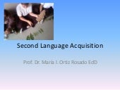 Second Language Acquisition 631
