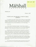 "Document- ""George C. Marshall Institute"""