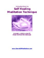 Self Healing - Meditation Technique