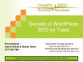 Secrets of WordPress SEO by Yoast
