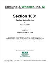 Section 1031 For Legistlative Revie...