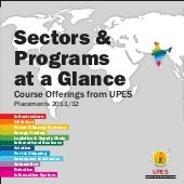 Sectors & Programs at a glance