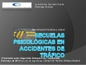 Secuelas psicológicas en accidentes...
