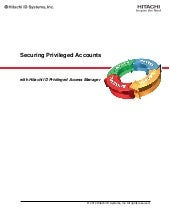 Securing Privileged Accounts with H...