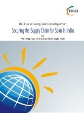Securing the Supply Chain for Solar...