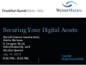 Securing Your Digital Assets slides NYC July 14, 2015