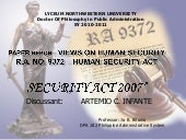 Security Act 2007