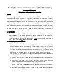 Cloud computing literature review
