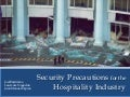 Security Precautions for the Hospitality Industry