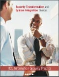 HCLT Brochure: Security Transformation  System Integration Services