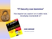 Security voor dummies v1
