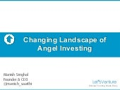 Changing Landscape of Angel Investi...