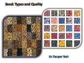 Seed, Seed Types and Seed Quality