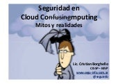 Seguridad en Cloud Computing - Segu...