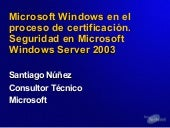 Seguridad en Windows Server 2003
