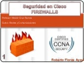 Seguridad en cisco   firewall by ro...