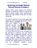 Selecting the right_medical_record_review_company