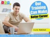 Selenium Online Training Course Cla...