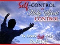 Self-Control vs Holy Spirit-Control