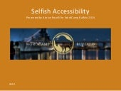Selfish Accessibility: WordCamp Buffalo 2014