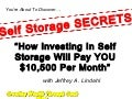 Self Storage Secrets! Dave Lindahl Teaches Investing in Self Storage