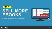 Sell More Ebooks: Tips & Tricks Based on Actual Data