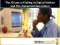 (Graham Brown mobileYouth) The 10 Laws of Selling to Digital Natives