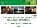 Sello ambiental colombiano   proexport