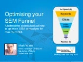 How to optimise your Google Adwords SEM funnel