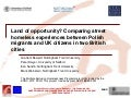 Land of Opportunity? Comparing Street Homeless Experiences Between Polish Migrants and UK Citizens in Two British Cities