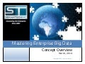 Semantech Inc. - Mastering Enterprise Big Data - Intro