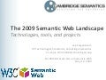 Semantic Web Landscape 2009