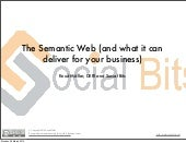 The Semantic Web (and what it can d...
