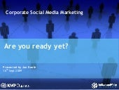 Are you Social Media ready?