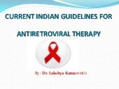 Current Indian Guidelines for Antir...