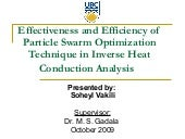 Effectiveness and Efficiency of Par...