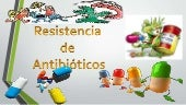 recistencia a antibioticos