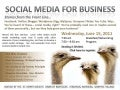 Social Media for Business - Stories from the Front Line