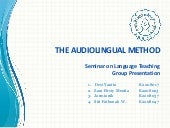 Seminar on Language Teaching-ALM