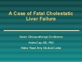 Liver Failure Case